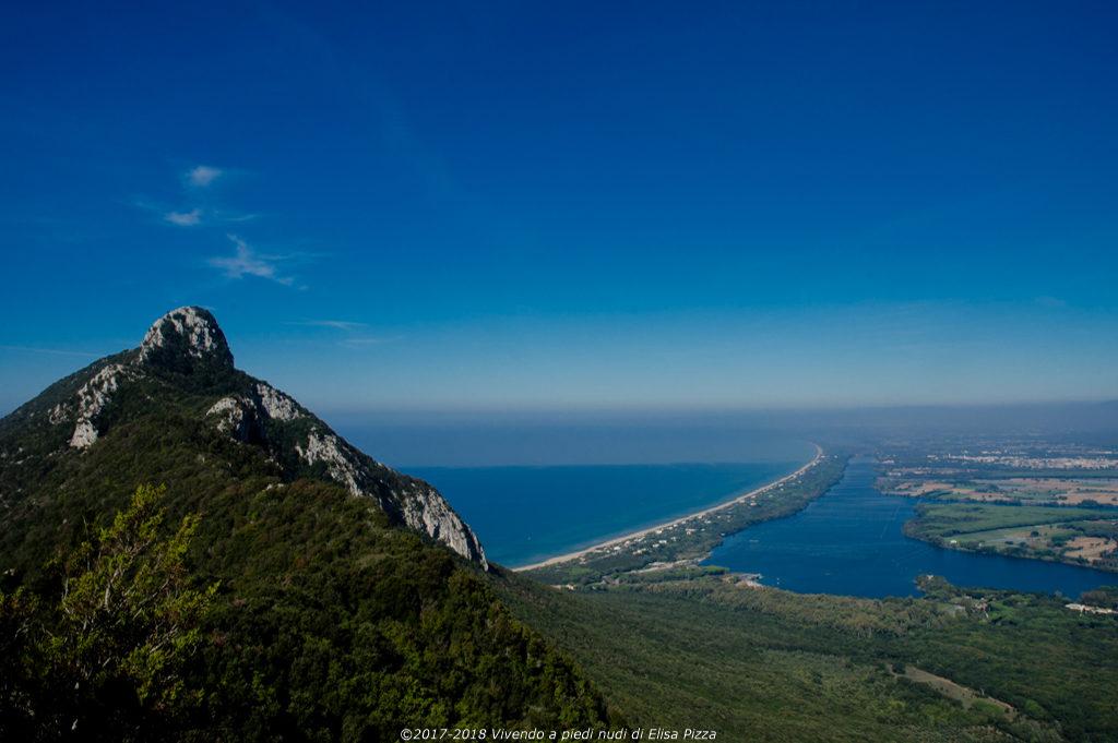 circeo picco panorama litorale