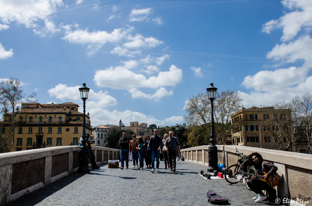 pasquetta ponte sisto roma felicità