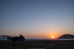 prasonisi tramonto kite vela